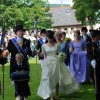 ROM - Cornet Escort the Queen to the Stage before she is crowned