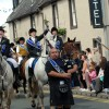The 2012 Principals lead the parade through Sanquhar